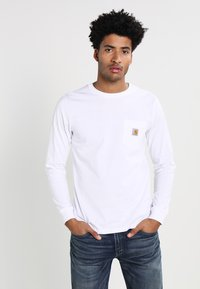 Carhartt WIP - POCKET  - Långärmad tröja - white - 0