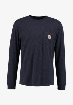 POCKET  - Bluzka z długim rękawem - dark navy heather