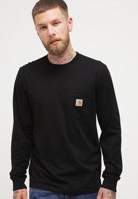 Carhartt WIP - POCKET  - Bluzka z długim rękawem - black - 0