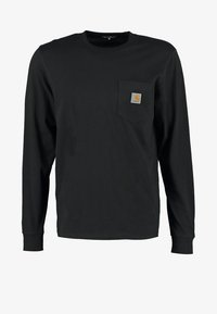 Carhartt WIP - POCKET  - Bluzka z długim rękawem - black - 5
