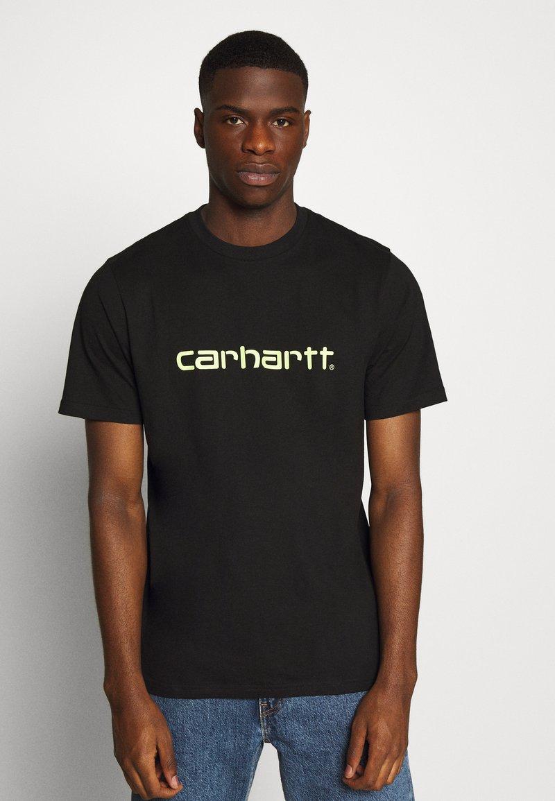 Carhartt WIP - SCRIPT - T-shirt imprimé - black/lime
