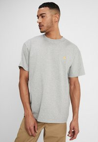 Carhartt WIP - CHASE  - T-shirt basic - grey heather - 0