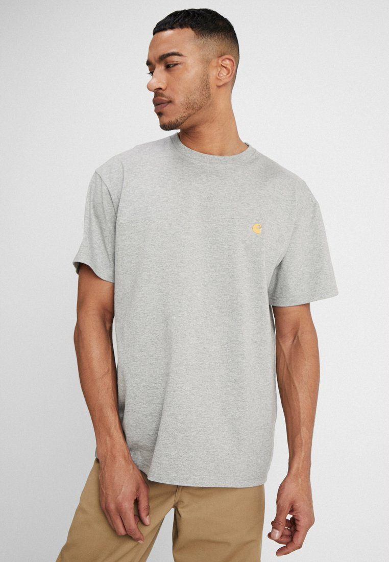 Carhartt WIP - CHASE  - T-shirt basic - grey heather
