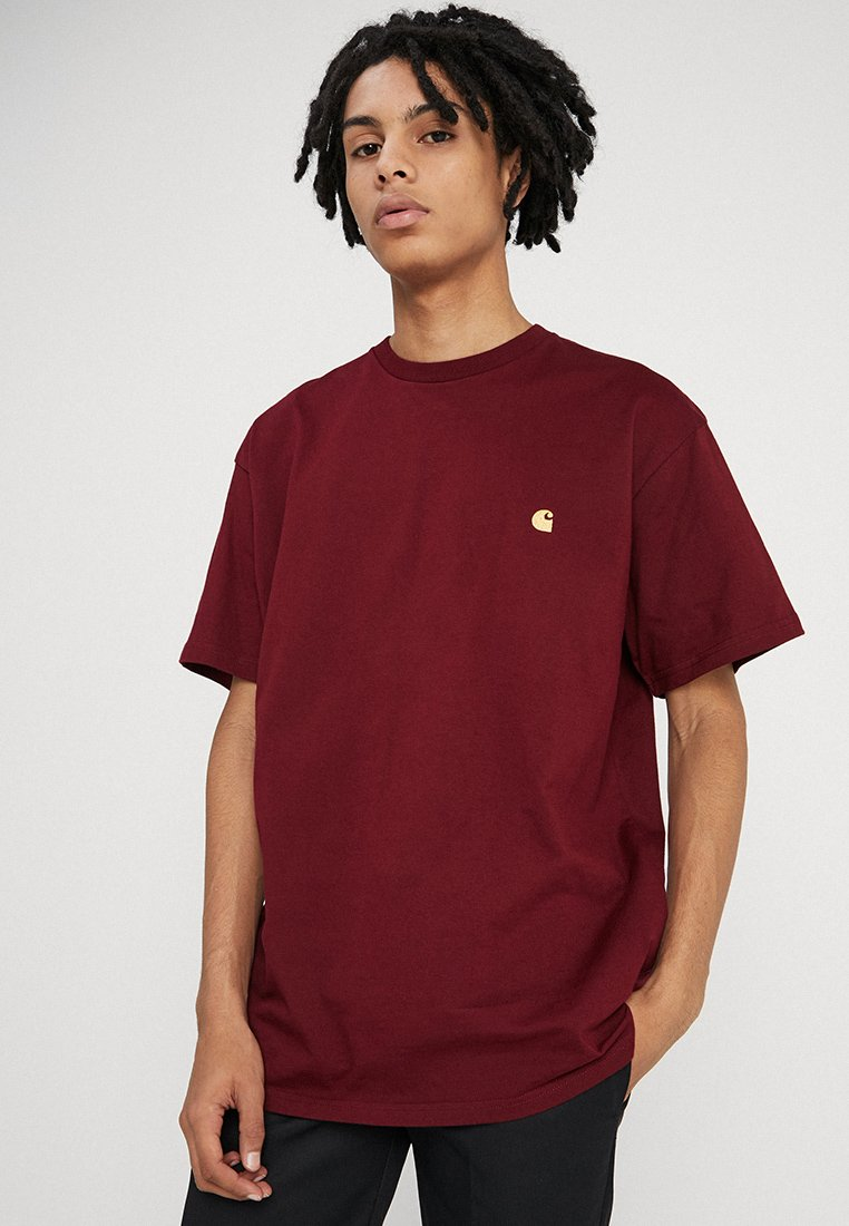 Carhartt WIP - CHASE  - Basic T-shirt - cranberry
