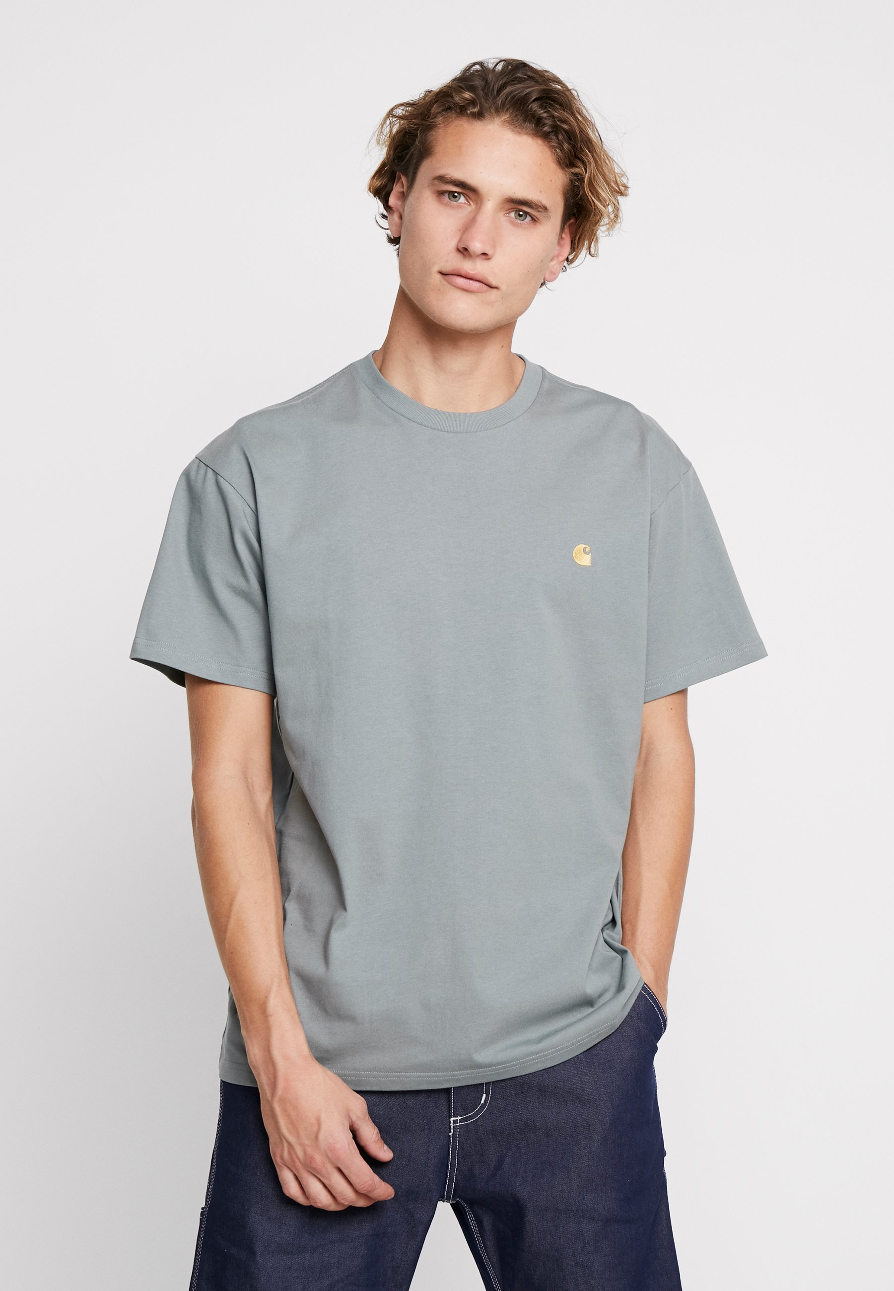 gold Carhartt shirt ChaseT Wip Basique Cloudy dQrsthC