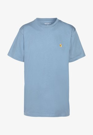 CHASE  - T-shirt - bas - blue-grey/gold