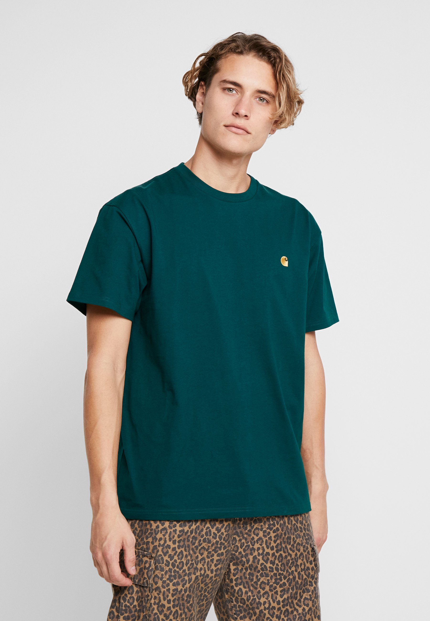 Basique Dark shirt gold Fir ChaseT Wip Carhartt bvY7ygf6