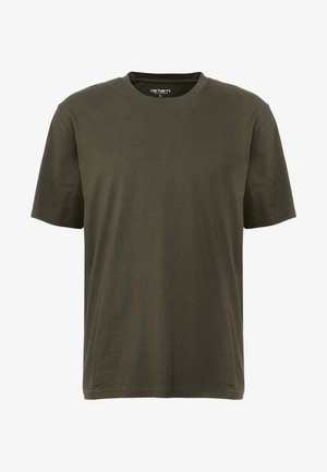 BASE  - T-shirt - bas - cypress/black