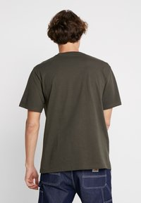 Carhartt WIP - BASE  - T-shirt basique - cypress/black - 2