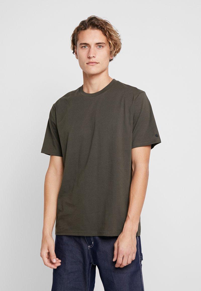Carhartt WIP - BASE  - T-shirt basique - cypress/black