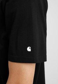 Carhartt WIP - BASE  - Basic T-shirt - black/white - 5