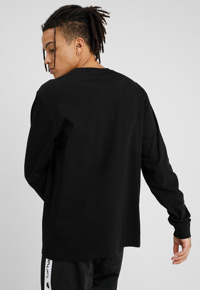 Carhartt WIP BASE - Bluzka z długim rękawem - black/white