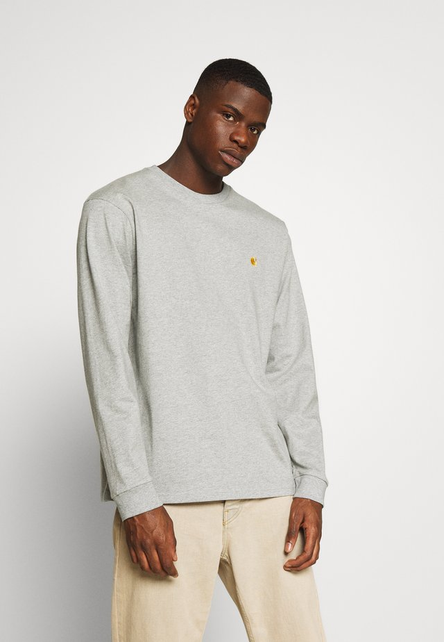 CHASE - Longsleeve - grey heather/gold