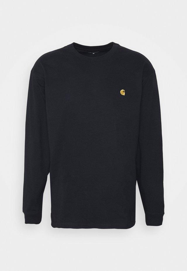 CHASE - Pitkähihainen paita - dark navy/gold