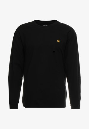 CHASE - Long sleeved top - black/gold