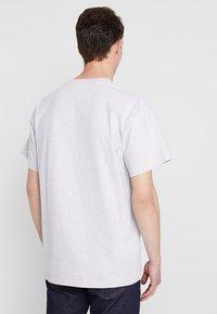 Carhartt WIP - AMERICAN SCRIPT  - T-shirt basic - ash heather - 2