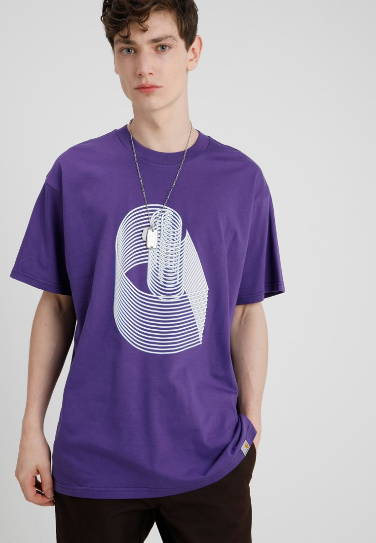 Carhartt WIP - T-shirt print - frosted viola