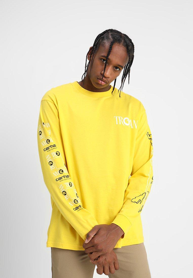 Carhartt WIP - TROJAN BOSS SOUNDS - T-shirt à manches longues - yellow