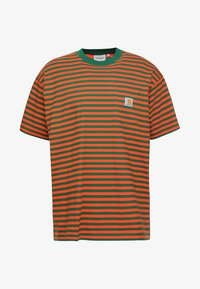 Carhartt WIP - BARKLEY POCKET  - T-shirt print - dragon/clivia - 3