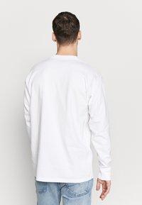 Carhartt WIP - AMERICAN  - Pitkähihainen paita - white - 2