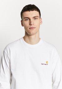 Carhartt WIP - AMERICAN  - Pitkähihainen paita - white - 3