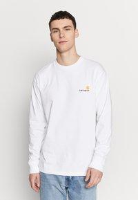 Carhartt WIP - AMERICAN  - Pitkähihainen paita - white - 0