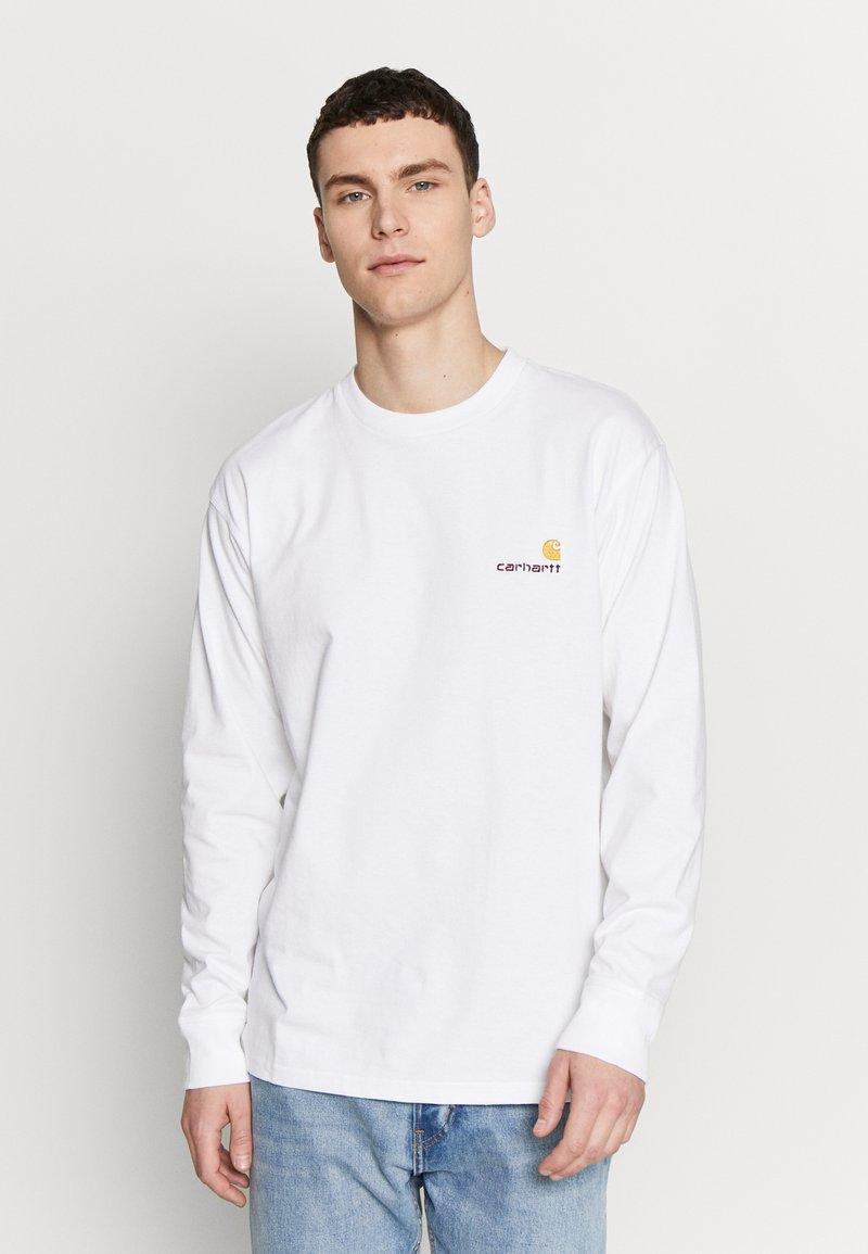 Carhartt WIP - AMERICAN  - Pitkähihainen paita - white