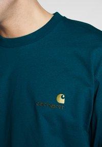 Carhartt WIP - AMERICAN  - Pitkähihainen paita - moody blue - 5