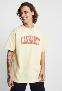 Carhartt WIP - THEORY - T-shirt print - pale yellow - 0
