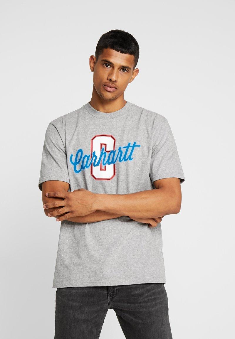 Carhartt WIP - TITAN - Print T-shirt - grey heather