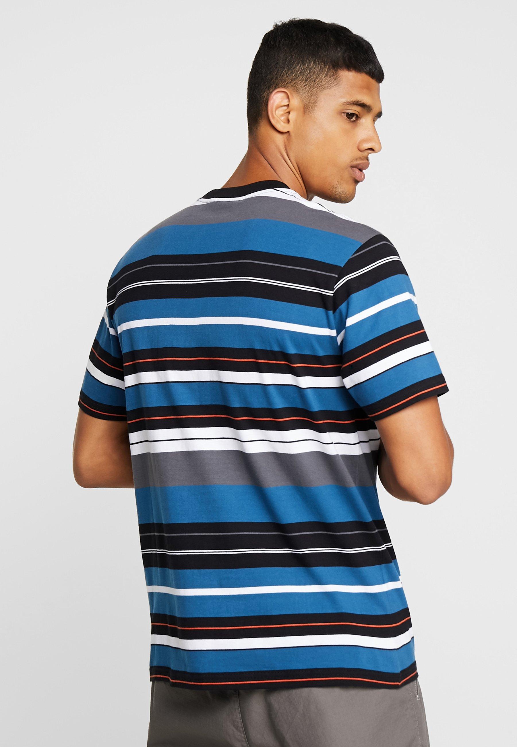 FlintT Carhartt shirt Prussian Blue Imprimé Wip 3uK5TlJF1c