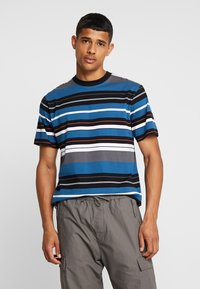 Carhartt WIP - FLINT - T-shirt med print - prussian blue - 0