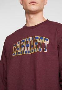Carhartt WIP - THEORY  - Langarmshirt - merlot - 4