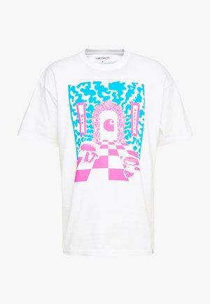 SHROOM  - T-shirt med print - white