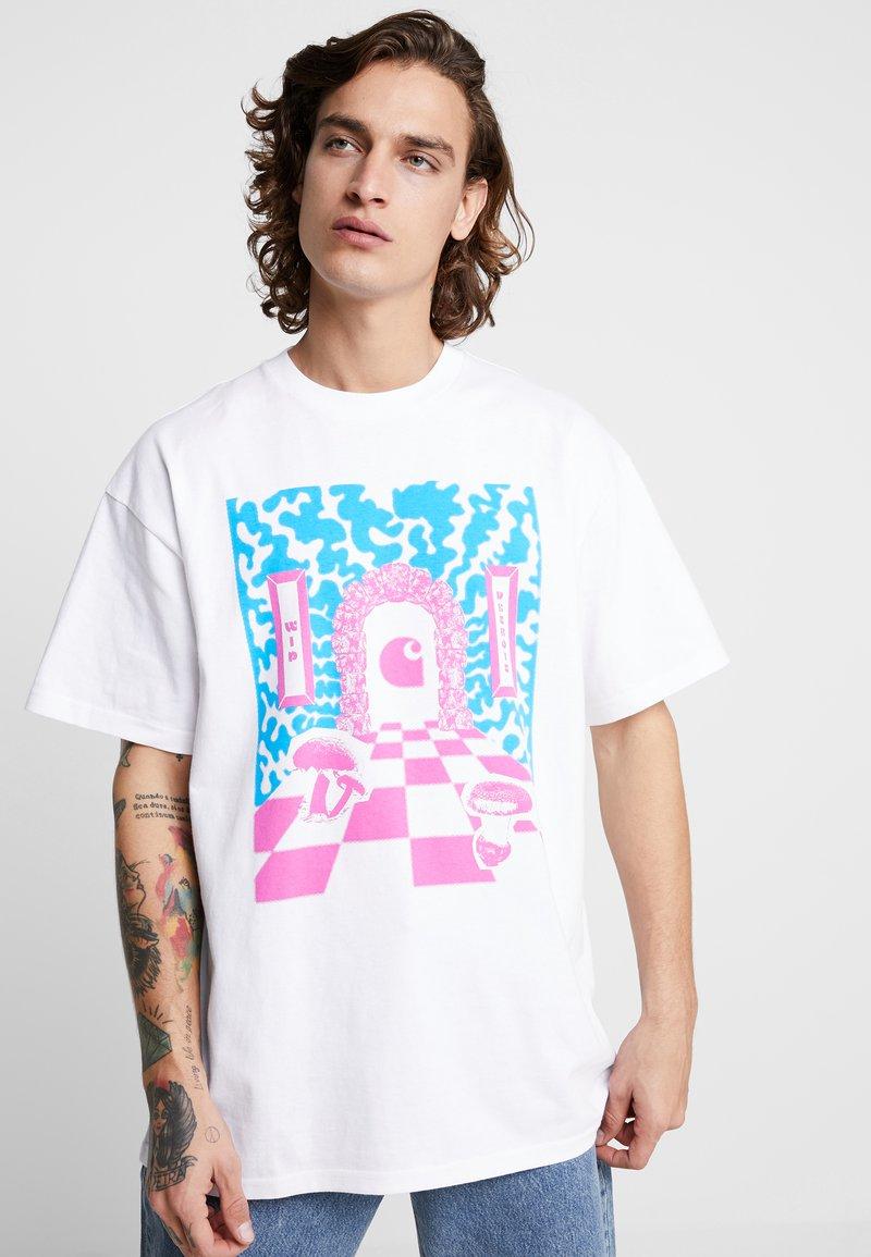 Carhartt WIP - SHROOM  - T-shirt con stampa - white