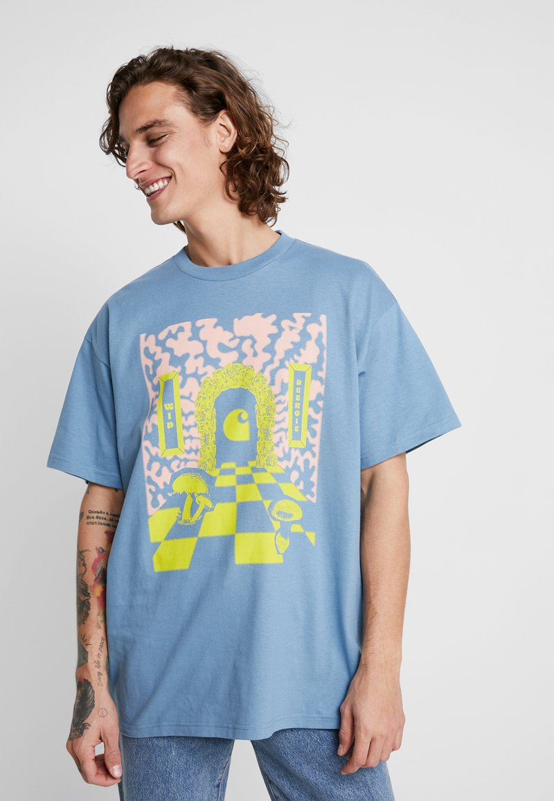 Carhartt WIP - SHROOM  - T-shirt con stampa - cold blue