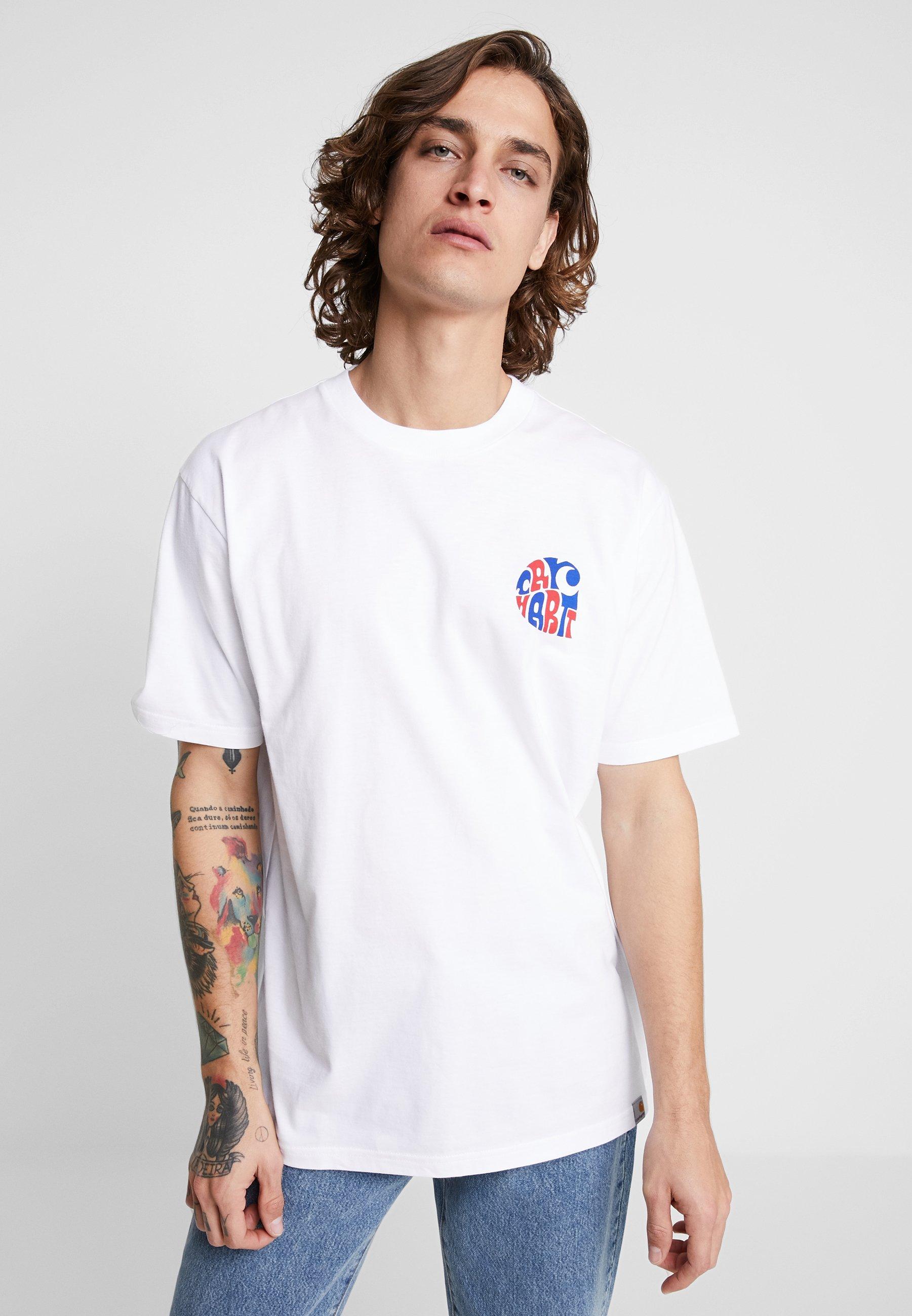 Wip shirt Carhartt Imprimé White ClearwaterT n8wPN0ZOkX