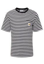 Haldon Pocket   T Shirt Med Print by Carhartt Wip
