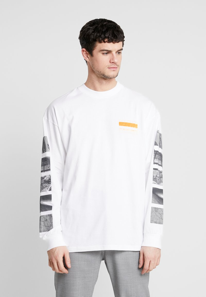 Carhartt WIP - STACK  - Long sleeved top - white