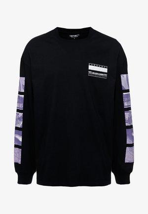 STACK  - Long sleeved top - black