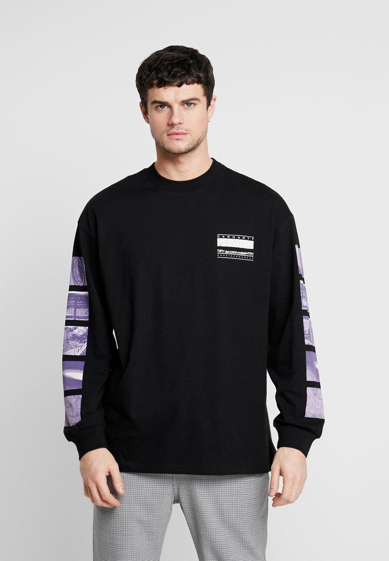 Carhartt WIP - STACK  - T-shirt à manches longues - black