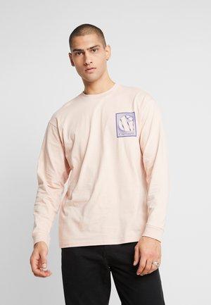 FOUNDATION - T-shirt à manches longues - powdery/blue