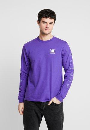 MOTOWN SUBLABELS - Långärmad tröja - prism violet