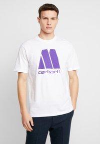 Carhartt WIP - MOTOWN X CARHARTT - T-shirt print - white/prism violet - 0