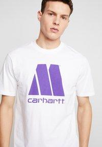 Carhartt WIP - MOTOWN X CARHARTT - T-shirt print - white/prism violet - 4