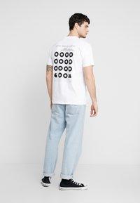 Carhartt WIP - MOTOWN ORDERFORM - Camiseta estampada - white - 2