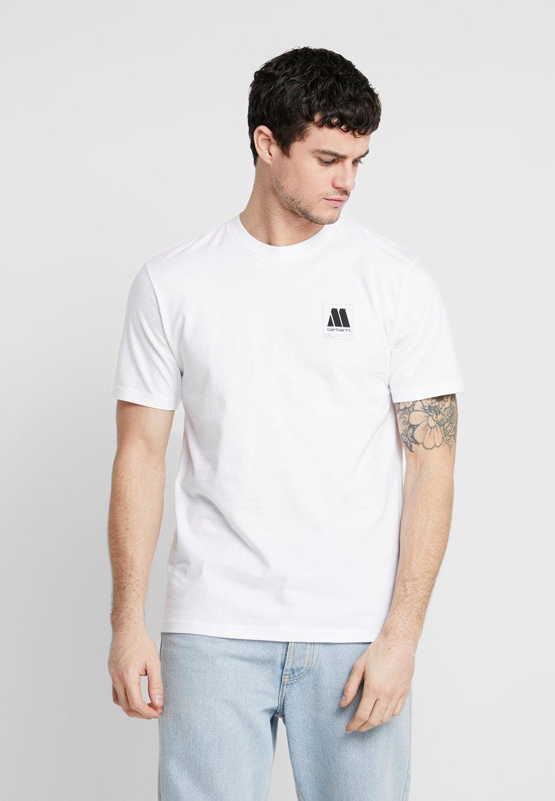 Carhartt WIP - MOTOWN ORDERFORM - Camiseta estampada - white