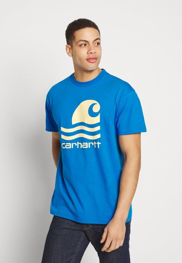 SWIM - T-shirt print - azzuro/fresco