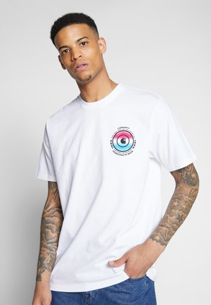 WORLDWIDE - T-shirt imprimé - white