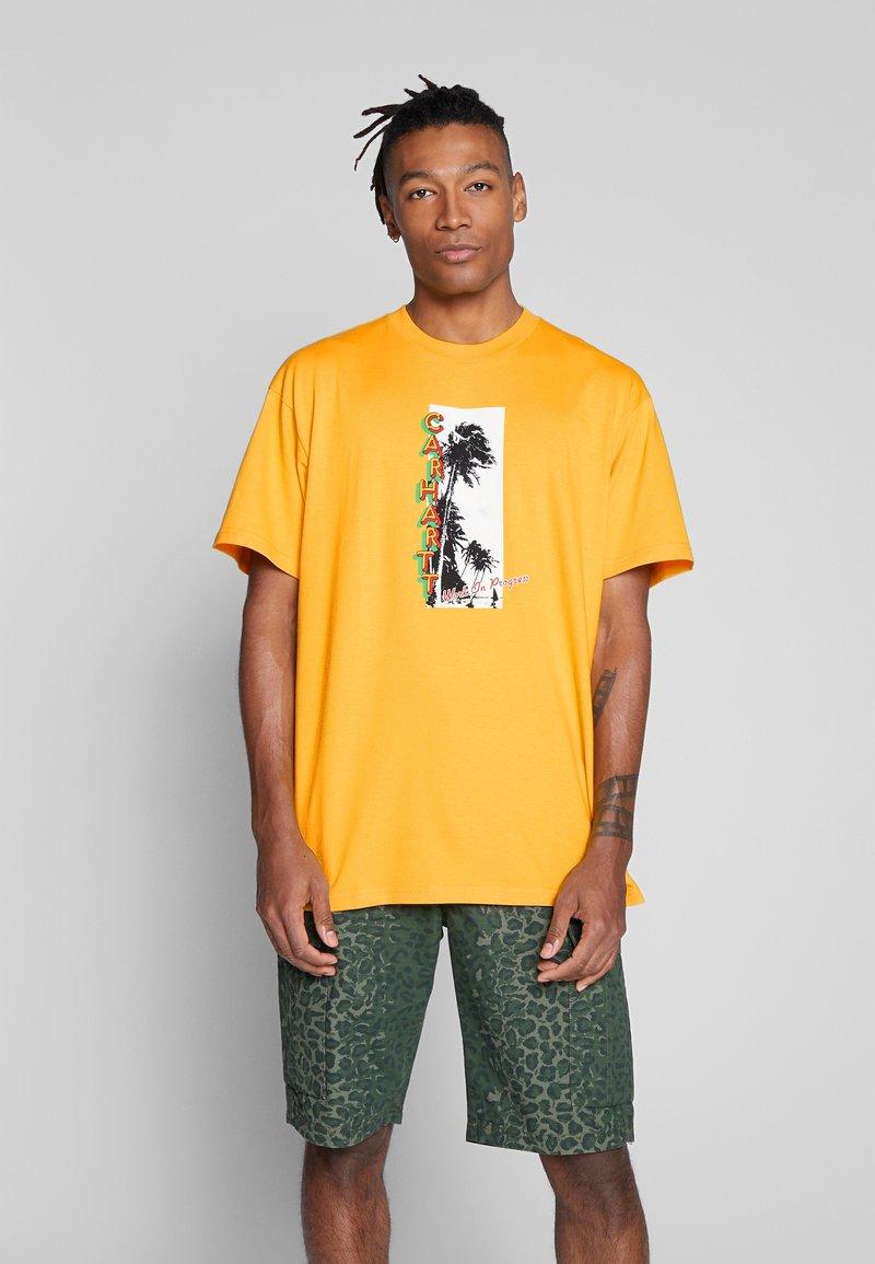 Carhartt WIP - MONTEGO - Print T-shirt - sunflower